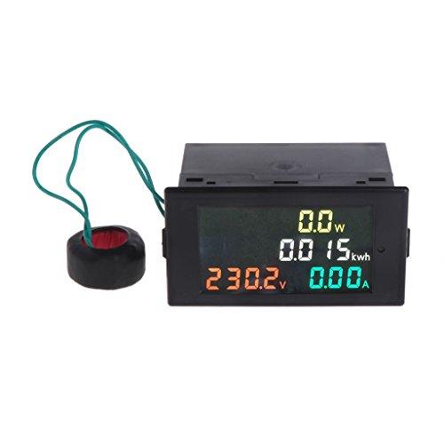 Besttse AC 80-300V Voltmeter Amperemeter Power Energy Meter Volt Amp Power Kwh Meter 100A CT -