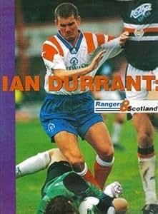 SHOOT football magazine Glasgow Rangers IAN DURRANT McEwans away kit picture