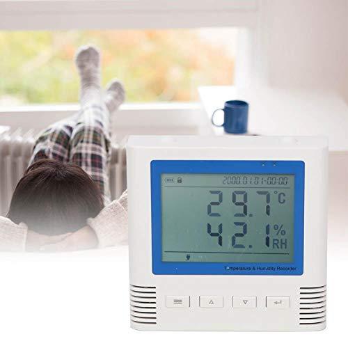 Acogedor Termómetro de higrómetro, termómetro de Interior e higrómetro, termómetro de higrómetro...