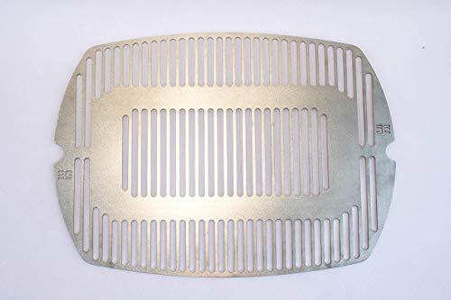 deingrillrost.de / Grillrost f. Weber Q200 2000 220 240 UVM. Edelstahl VA 4 mm EE