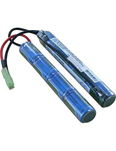 Batterie pour AIRSOFT M4A1, 9.6V, 1500mAh, Ni-MH