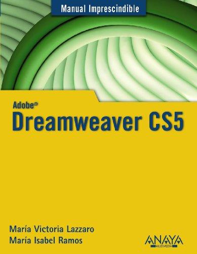 Dreamweaver CS5 (Manuales Imprescindibles) por María Isabel Ramos