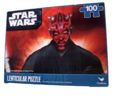 Star Wars Darth Maul Puzzle 100 Teile in 3-D