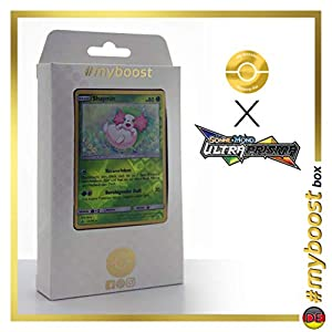 Shaymin 15/156 Holo Reverse - #myboost X Sonne & Mond 5 Ultra-Prisma - Box de 10 Cartas Pokémon Aleman