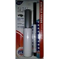 Almay One Coat Mascara Black Brown 403 Bonus Eyeliner by Almay