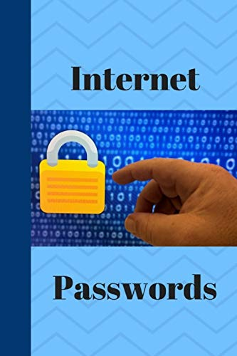 internet passwords: passwords are a vital necessity to any of us who work online and keeping your passwords all in one place is working smart.
