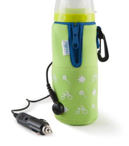 Nuvita I010Hb033033 Travelmilk Felxi Scaldabiberon Da Auto Con Cavo Staccabile, Verde