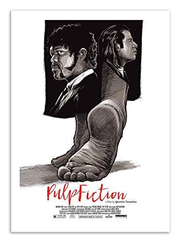 Art-Poster - Pulp Fiction - Joshua Budich