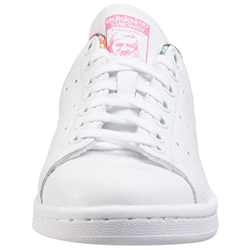 Adidas Stan Smith W Scarpe Low-Top, Donna bianco rosa
