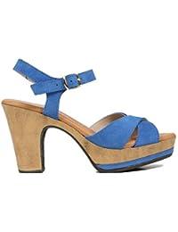 Zapatos miMaO. Zapatos Piel Mujer Hechos EN ESPAÑA. Sandalia Tacón Mujer. Sandalia Plataforma