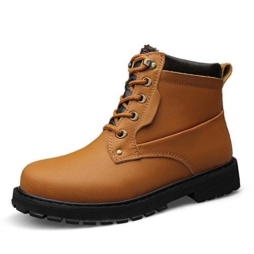 Chaud bottes dhiver pieds nus ext¨¦rieure imperm¨¦able ¨¤ leau antid¨¦rapante semelle en caoutchouc 46