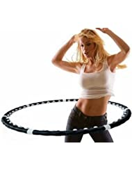 Professional Weighted Magnetic Hula Hoola Hoop Fitness Exercise Massager Workout Abs
