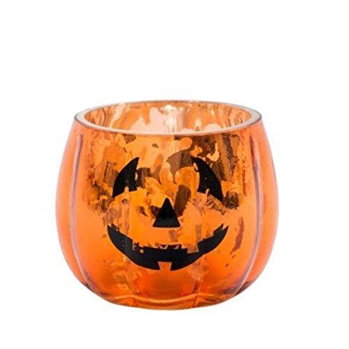 Halloween Votivkerzenhalter Kürbis
