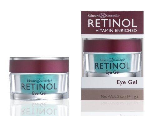 Skincare LdeL Cosmetics Retinol Eye Gel, .5-Ounce Jar by Skincare