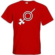 getshirts - Das Schwarze Auge - T-Shirt - Götter - Symbole - Rondra