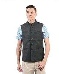 Monte Carlo Mens Cotton Jacket (217039651-1_Black_44)