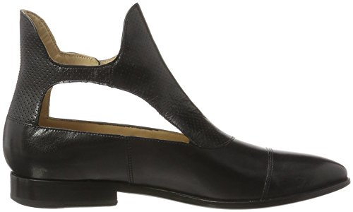 Melvin & Hamilton Damen Jessy 21 Stiefel Schwarz (Salerno/Salerno Perfo Black(1,2)/Black(3) LS Black)