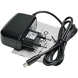 Chargeur Compatible avec Acer Liquid Z630, Z630S Chargeur Rapide 2 A OTB avec Chiffon de Nettoyage mungoo