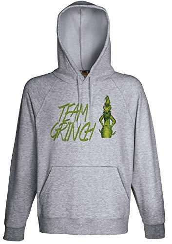 Team Grinch Movie Fan Hoodie Custom Made Hooded Sweatshirt ()