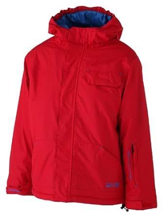 Boys Ski Jacket Afton (10 Years Old, Red)