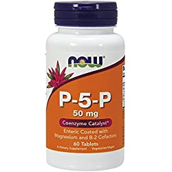 Now Foods, P-5-P, Coenzyme B6, 50 mg, 60 Tablets