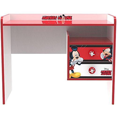 Stor - Table -Bureau pour Enfants   Mickey Mouse - Stripes   Disney - Dimensions: 79,5 x 100 x 50 cm. - Plusieurs Personnages