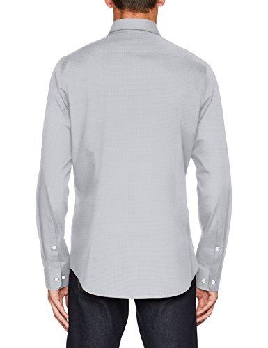 Seidensticker Herren Businesshemd Slim Blau (Blau 14)