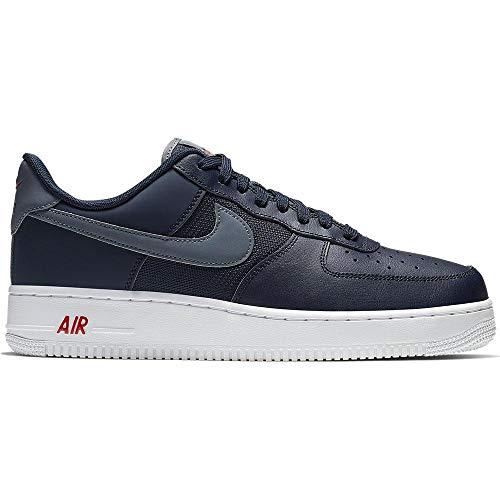 Nike Air Force 1 '07 Lv8 Bv1278-400, Scarpe da Ginnastica Basse Uomo, Blu (Navy, 44.5 EU