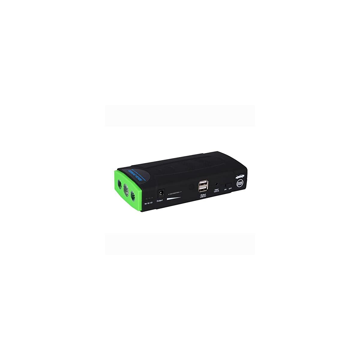 41kUXZs87eL. SS1200  - MIAO Auto Jump Starter - Fuente de alimentación de arranque de emergencia para automóvil multipropósito de 12V, 68800mAh 3.0L Coche de gasolina y 2.0L para automóvil diesel Linterna de LED universal Banco de alimentación / alimentación móvil