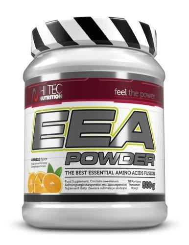 Hi Tec Nutrition - EAA Pulver 500g - AAE Powder - Top Löslich - Hoch Dosiert - Super Geschmack Orange -
