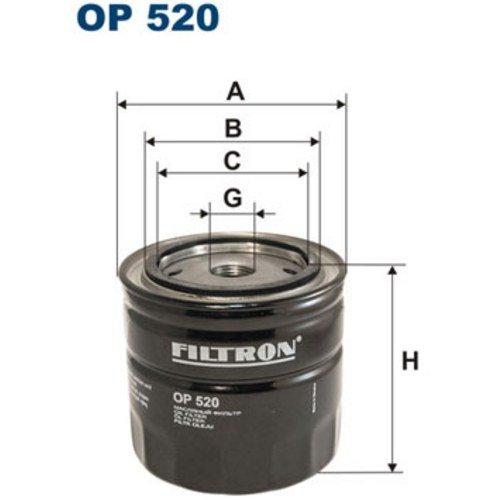 FILTRON OP520 Motorblöcke