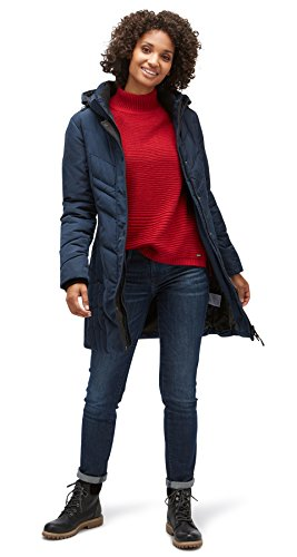 TOM TAILOR Damen Mantel Cold Day Coat real navy blue
