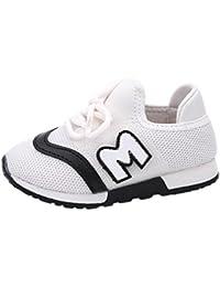 K-youth® Zapatillas Niño Zapatillas Para Bebés Zapatos de Bebé Malla Zapatillas de Deporte Transpirables Antideslizante Zapatos Bebe Niño