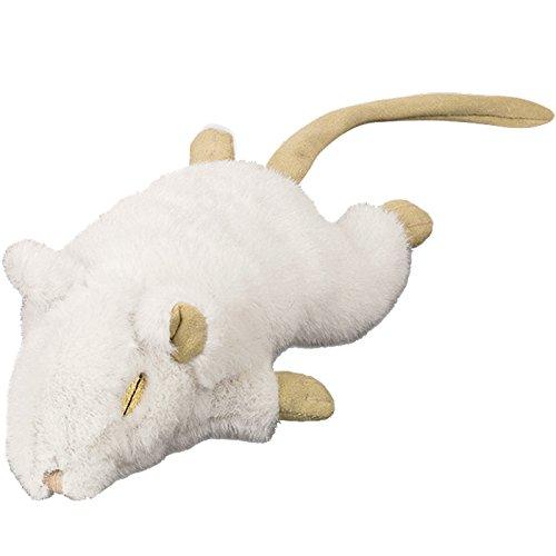 Nobby Souris en Peluche pour Chat Blanc 19 cm