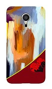 ZAPCASE PRINTED BACK COVER FOR meizu mx5- Multicolor