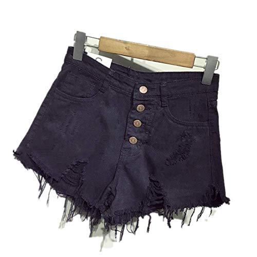 YURACEER Damen Sommer Shorts Hohe Taille Denim Shorts Sexy Quaste Kurzen Jeans Frauen 2019 Sommer Damen Dünne Shorts Kurze Hosen Casual Jeans x1