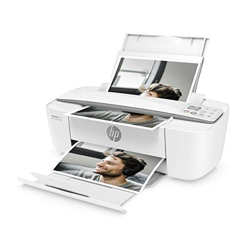 HP DeskJet 3750 Multifunktionsdrucker (Drucken, Scannen, Kopieren, WLAN, Airprint, mit 3 Probemonaten HP Instant Ink Inklusive) grau