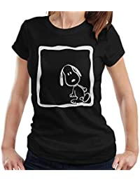 d150a5619 Peanuts Snoopy White Lean Women's T-Shirt