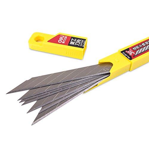 Preisvergleich Produktbild Deli SK5 30° 10 Klingen, 9mm - für Folierer- Grafikmesser / Folienmesser / Car wrapping knife, Cuttermesser