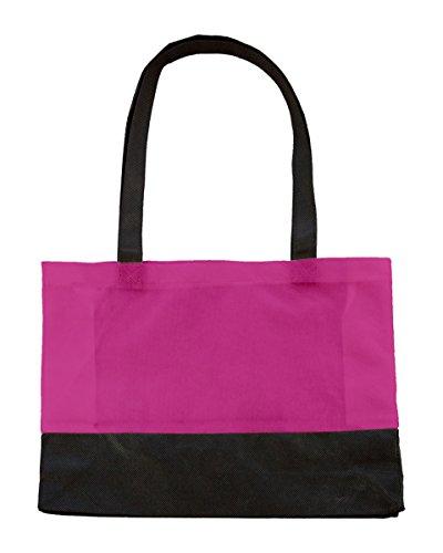 Bags By Jassz, Borsa a spalla donna Pink/Black
