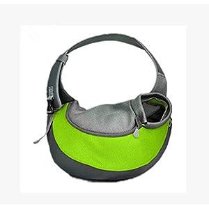 AFFLATUS Brust Diagonal Umhängetasche Haustierbeutel , green