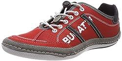 bugatti Herren 321480066954 Sneaker, Rot, 42 EU