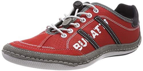 bugatti Herren 321480066954 Sneaker, Rot, 43 EU