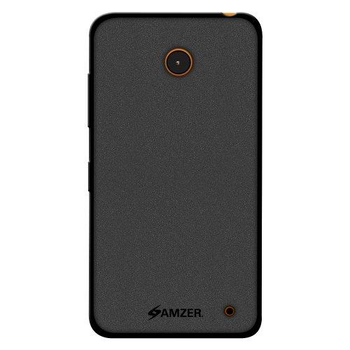 Amzer 97072 Pudding TPU Case - Black for Nokia Lumia 635, Nokia Lumia 630  available at amazon for Rs.424