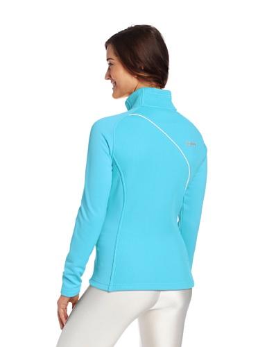 Spyder Damen Essential mid Gewicht Core Sweater Splash/White/Taxi