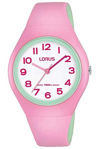Lorus Kids Montre Mixte Analogique Quartz avec Bracelet Polyuréthane RRX07GX9