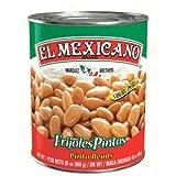 El Mexicano Frijol Entero Pinto - Paquete de 12 x 822 gr - Total: 9864 gr