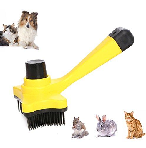 iPetoo Cepillo Peine para Mascotas - Perros Gato Pet Pelo Largo Dematting/Grooming Comb - Peine Cepillo Perro Gato para Aseo de Mascotas
