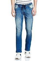 Arrow Mens Relaxed Fit Jeans (8907538541529_AJUJN2754_30W x 34L_Blue)
