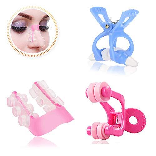 Kit per sollevare il naso con clip modellante, massaggiatore per il naso, per raddrizzare il ponte del naso, set da 3 pezzi